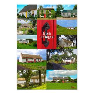 Irish cottages photo print