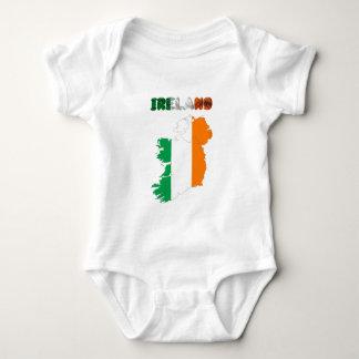 Irish country flag baby bodysuit