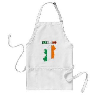 Irish country flag standard apron