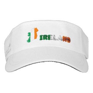 Irish country flag visor