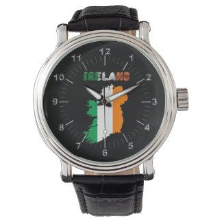 Irish country flag watch