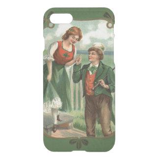 Irish Couple Shillelagh Shamrock iPhone 7 Case