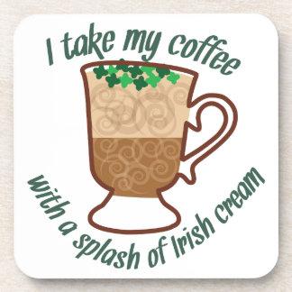 Irish Cream Beverage Coaster