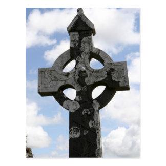 Irish Cross Postcard