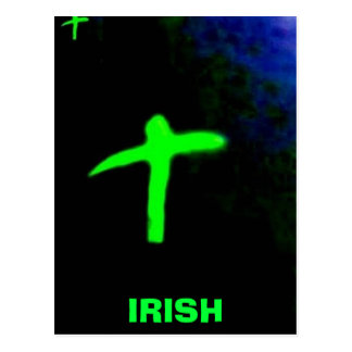 , IRISH CROSS POSTCARD