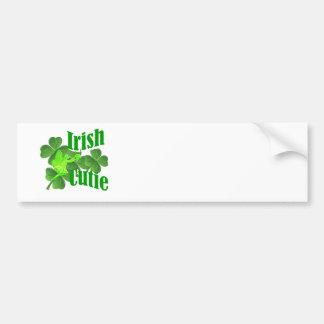 Irish cutie bumper sticker