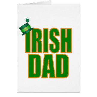 Irish Dad Greeting Card