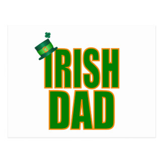 Irish Dad Postcard