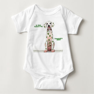 Irish Dalmation - Baby Baby Bodysuit