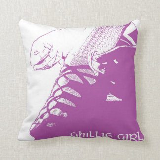 "Irish Dance ""Ghillie Girl"" Throw Pillow - Pink"
