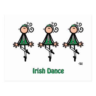 Irish Dance Postcard