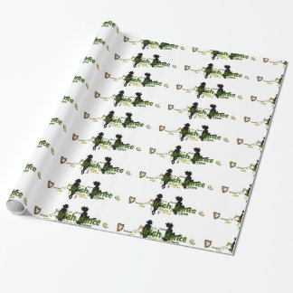 Irish Dance Wordle Wrapping Paper