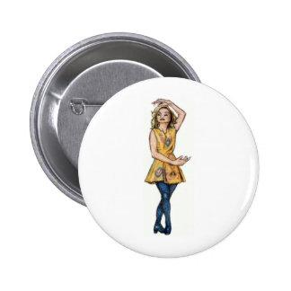 irish dancer button/ badge