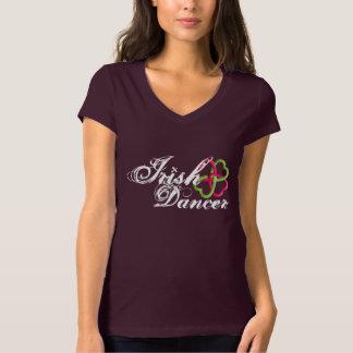 Irish Dancer clover celtic knot Tee Shirt