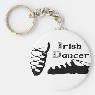 Irish Dancer Ghillies Key Ring