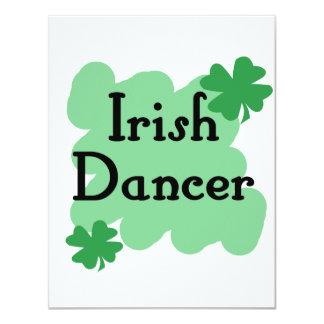 Irish dancer custom announcements