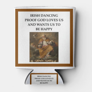 irish dancing can cooler