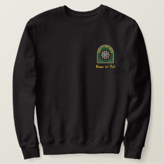 Irish Darts Embroidered Sweatshirt