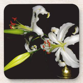 Irish Design- Brass and Flower Collection Coaster
