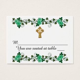 Irish design for wedding Place cards