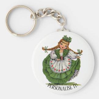 Irish Doll Key Ring