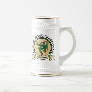 Irish Drinking Team beer stein