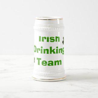 Irish Drinking Team Beer Stein