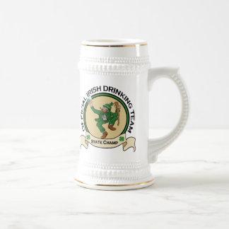 Irish Drinking Team beer stein Beer Steins