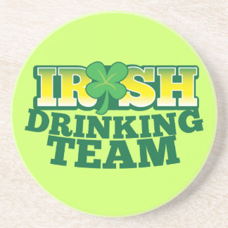 Irish Drinking TEAM Drink Coaster