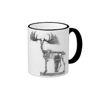 irish elk 3 coffee mugs