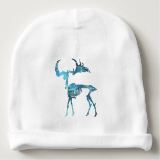 Irish Elk Skeleton Baby Beanie