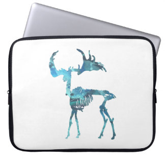 Irish Elk Skeleton Laptop Sleeve