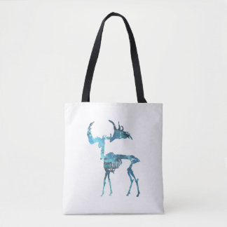 Irish Elk Skeleton Tote Bag