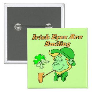 Irish Eyes Are Smiling Button