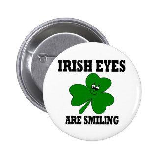 Irish Eyes are Smiling Buttons