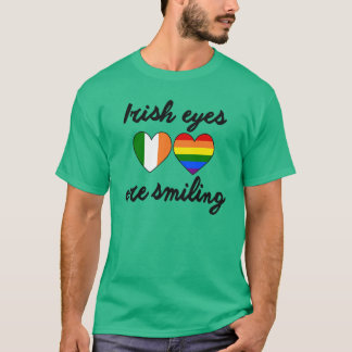 IRISH EYES ARE SMILING. T-Shirt