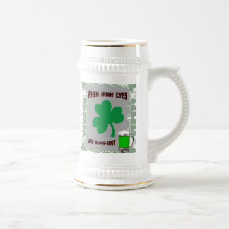 IRISH EYES BEER STEIN