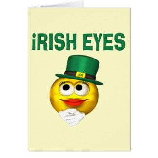IRISH EYES GREETING CARDS