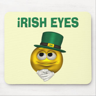 IRISH EYES MOUSE PAD