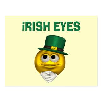 IRISH EYES POST CARDS