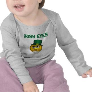 IRISH EYES T SHIRTS