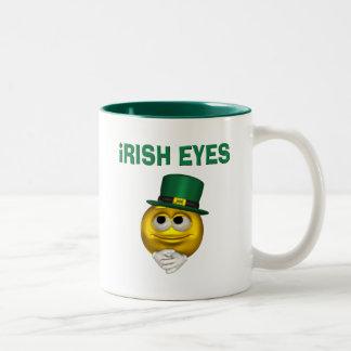 IRISH EYES Two-Tone MUG