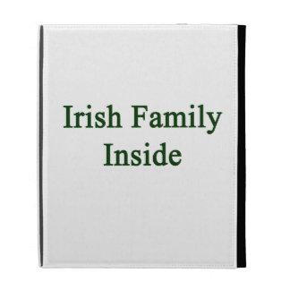 Irish Family Inside iPad Cases