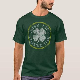 Irish Feck Drinking Team t shirt