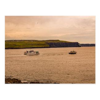 """""""Irish Ferries"""" postcard"""