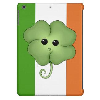 Irish Flag & Chibi Clover Case For iPad Air