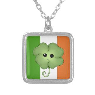 Irish Flag & Chibi Clover Custom Jewelry