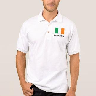 Irish flag custom polo shirts for men and women