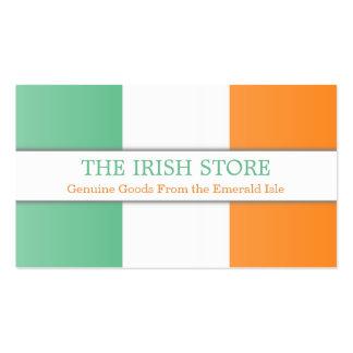 Irish Flag, Fully Customizable Business Card