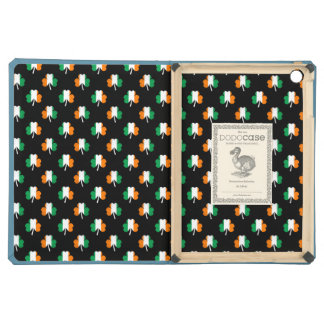 Irish Flag-Green/White/Orange-Colored Shamrocks iPad Air Case